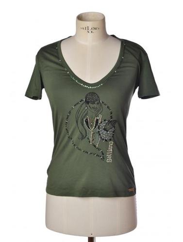 John Galliano T-shirts Maniche Corte