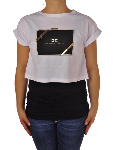 Elisabetta Franchi T-shirts Maniche Corte