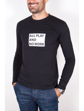 """ALLPLAY""  T-shirts Maniche Lunghe"