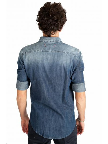 No Lab Camicie In Denim
