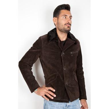 """Stewart  """"HERNEST """"  Leather Jackets Scamosciati"""