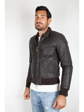 """JEFF ""  Leather Jackets Bomber & Biker"