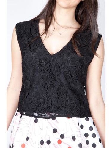 Space style concept Top Sleeveless