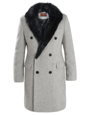 """MAJOR FUR""  Coats Doppiopetto"