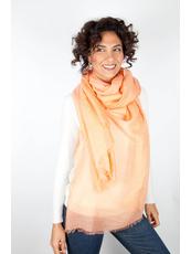 """""""SHATO PETALO arancio""""  Scarves & Wraps Foulard"""