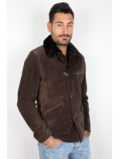 """HERNEST ""  Leather Jackets Scamosciati"