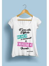 """""""Reach""""  T-shirts Maniche Corte"""