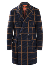 """MAJOR COAT""  Coats Doppiopetto"