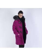"""""""OVERTIME FUR""""  Cappotti Pea Coat"""