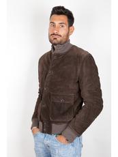 """RANDOM ""  Leather Jackets Scamosciati"