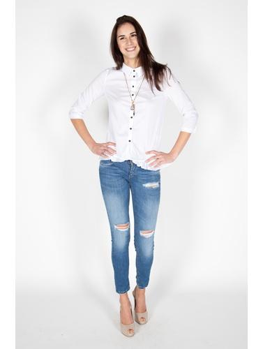Allyson White Camicie Casual
