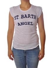 "Saint Barth  ""JOLIE""  T-shirts Maniche Corte"