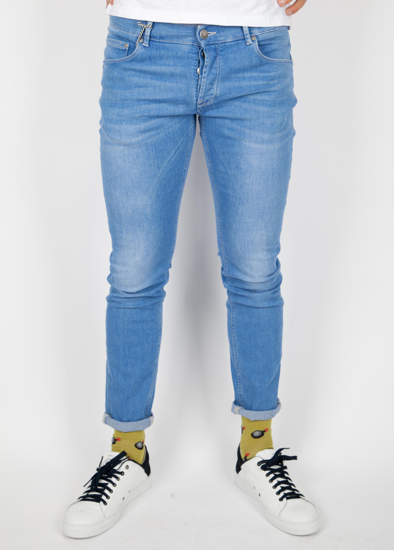 DENIM - Denim trousers Daniele Alessandrini Nicekicks Sale Online Sale Huge Surprise Clearance Sale Online Largest Supplier Cheap Price HzCmM9y0