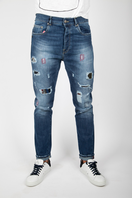 cc53290a01c84 Daniele Alessandrini Jeans Skinny